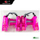 GOSOME PVC 4 wheels heels roller flashing skates