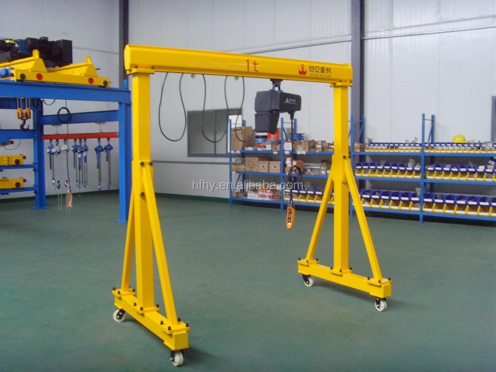 Portable Hydraulic Jib Crane : Port?til guindaste kg manual de p?rtico