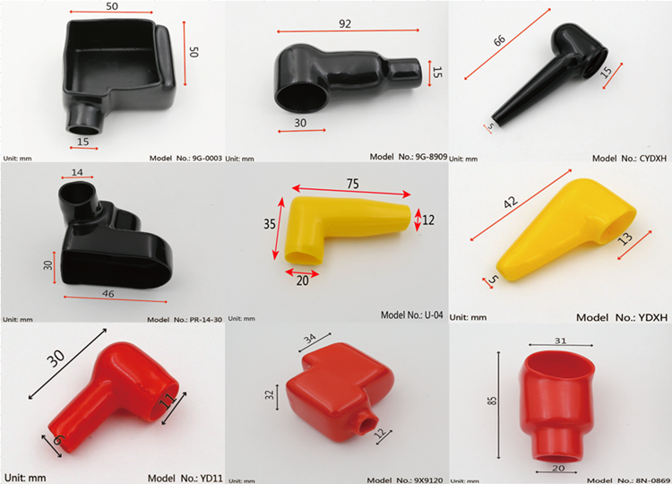 Pvc Insulated Cable Lug : Pvc vinyl insulated cable lug covers battery terminal