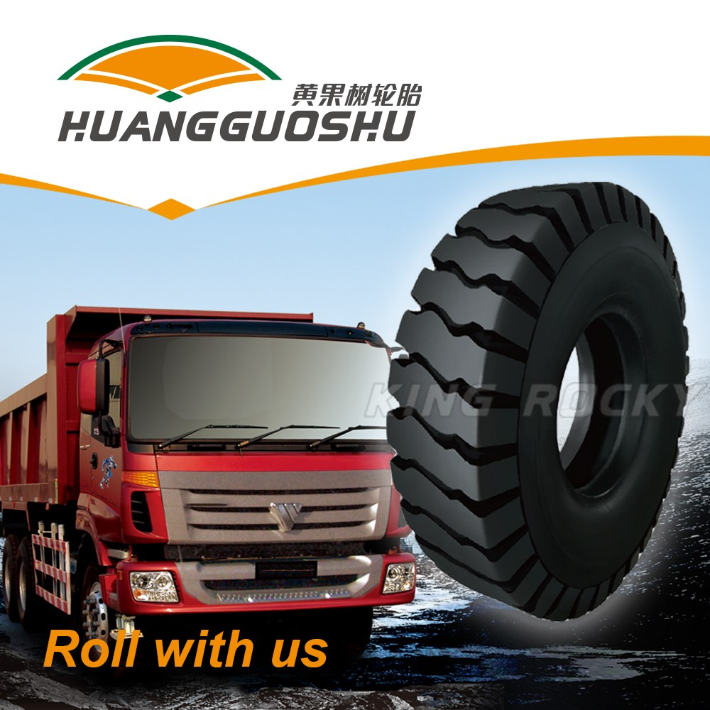 giant mining truck tire for extremely rough road