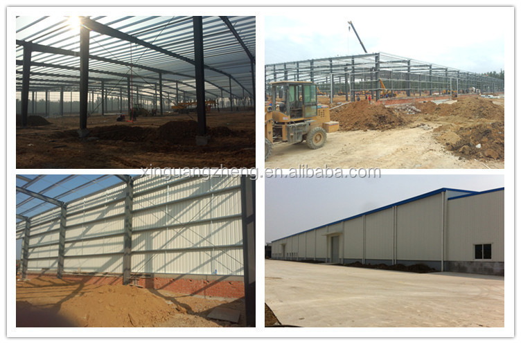 Irregular shape H steel structure L shape warehouse Buildings