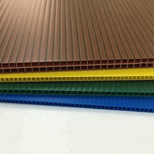 PP sheet colorful square plastic board plates, PP layer pad