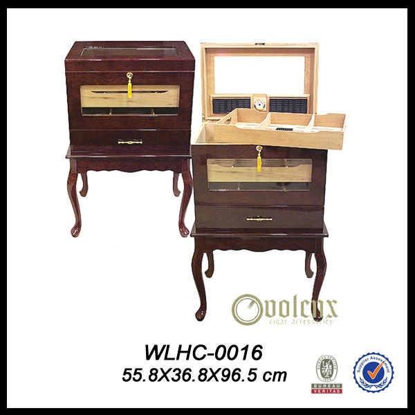 Decorative Wooden Cigar Cabinet Onlays (SGS/BV)