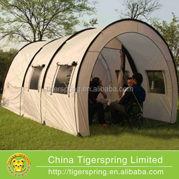 Large outdoor camping tunnel tent