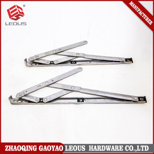 Top sale for 16 inch 22 square groove four links glass window friction hinge