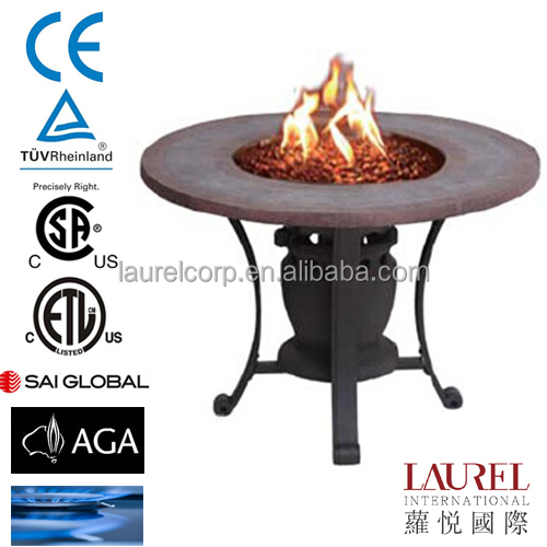 Iron cast outdoor brazier