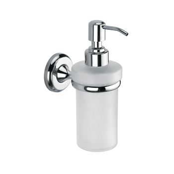 Chrome stainless steel wall mounted shower shampoo gel dispensers