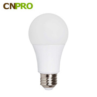 Factory Supply Plastic Coated Aluminum E26 E27 B22 LED Bulb Light 7W 700LM 2700K-6500K CE ROHS