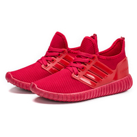 2019 Hot selling men sneakers shoe red casual running sport basketball shoes