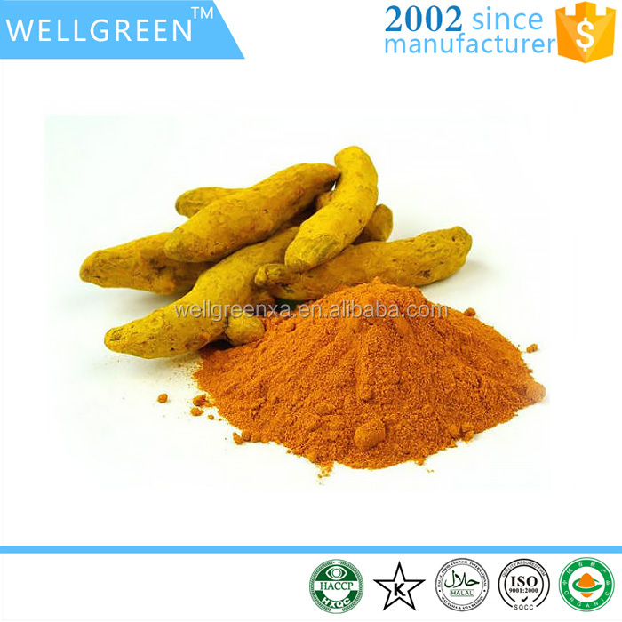 Natural edible colorant Turmeric Root Extract 95%