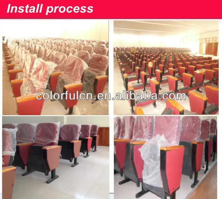 Wooden Conference Chair Meeting Hall Chair YA-09A