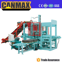 QT4-15 Top brand canmax hydraulic press machine for animal mineral block, concrete block moulding machine