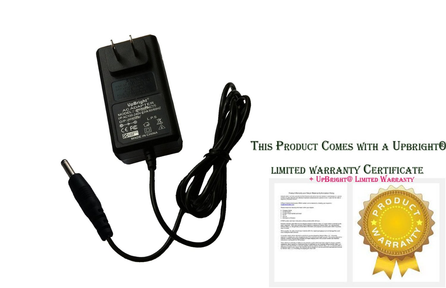 UpBright® NEW Global 15V AC / DC Adapter For Amazon Fire TV (NEW 2nd Generation & 4K Ultra HD streaming GAMING EDITION) 15VDC 21W Power Supply Cord Cable PS Charger Mains PSU