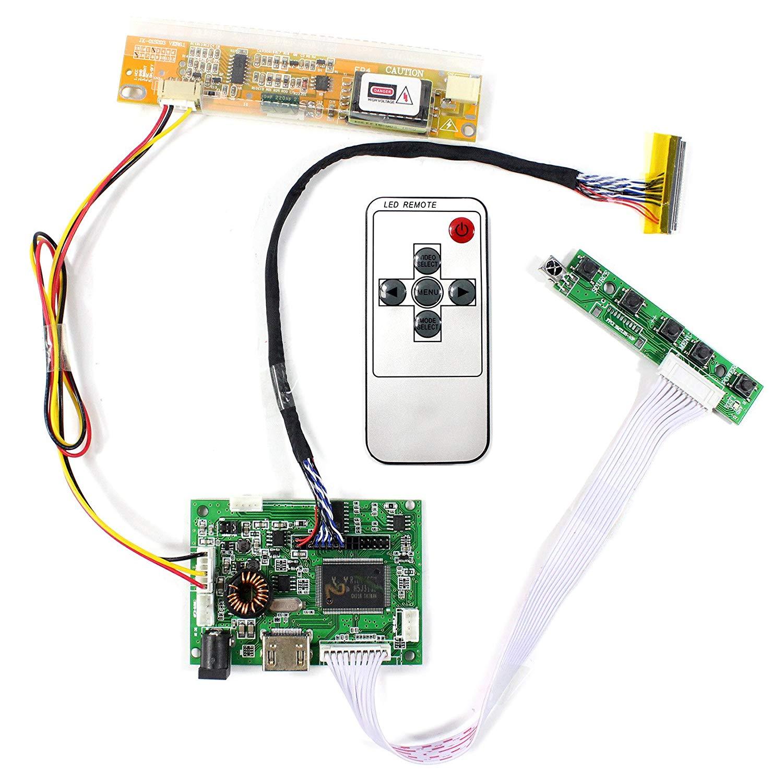"for B156XW01 V.2  LTN156AT01 15.6/""  LCD Controller Driver Board HDMI+VGA+2AV"
