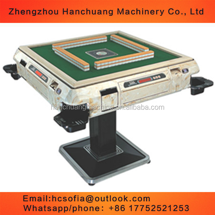 Chinese full automatic mahjong table for sale