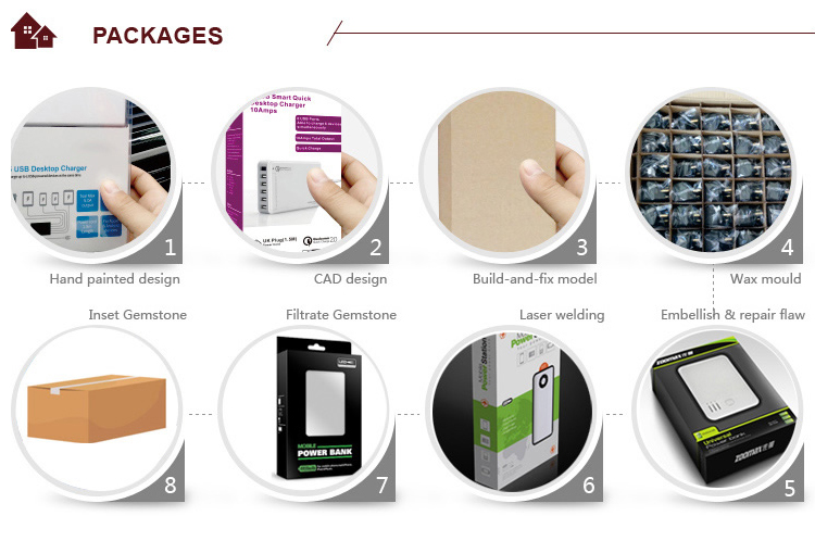 5200mAh usb power bank battery charger for us market