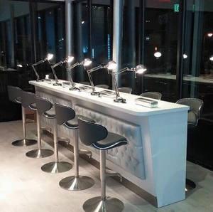 Nail bar furniture manicure table nail table for salon