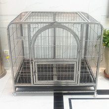square tubing fop pet products double dog crate big pet animal cage dog kennels