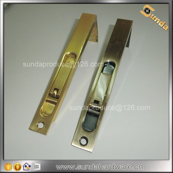 Br Locking Flush Bolt For Swing Door Bolts Double Doors Antique Product On Alibaba