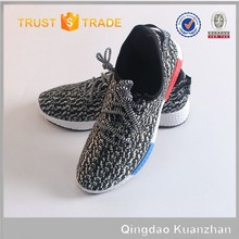 High Quality sport shoe breathable american style flyknit sport shoes
