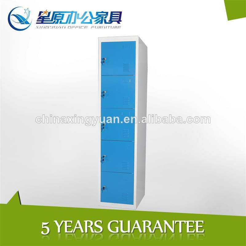 perfect 5 tiers metal locker lock for home and office furniture