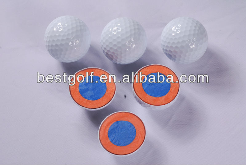 B114 Promotion Caiton 4 Piece Golf Ball , promotional rubber golf balls, 4 layer Golf Tournament Ball profile chart