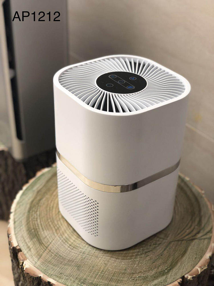 2018 Hot Selling the Most Practical air pollution detector hepa filter air purifier for Hotel Room Application
