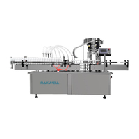 Factory supply automatic pharmaceutical filling and capping machine for glass bottle