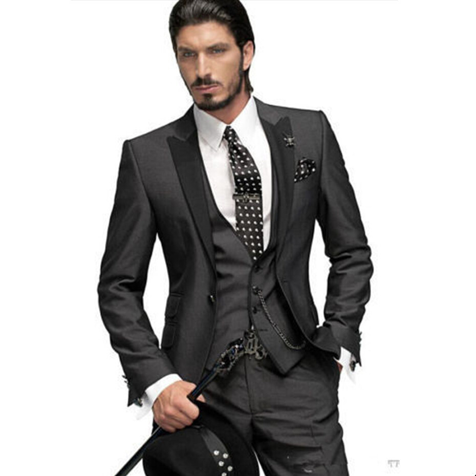 Cheap Grey Suits Slim Fit, find Grey Suits Slim Fit deals on line ...