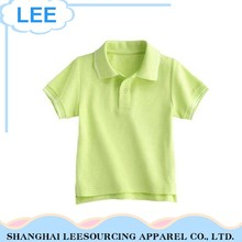 2017 Newest Eco-Friendly Green Children Boy T Shirt