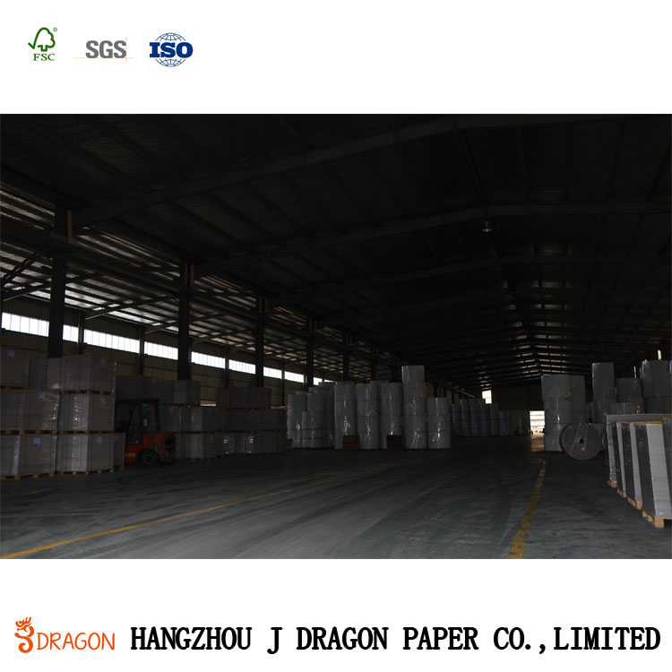Fuyang PAPER A/AA/AAA/AAAA Grade White Coated Duplex Board Grey back/Mix Wood Pulp Coated Ivory Board for Packaging Industrial
