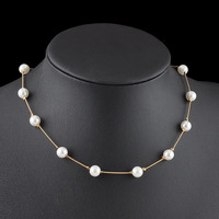 Fashion handmade single pearl necklace for women wholesale N80402