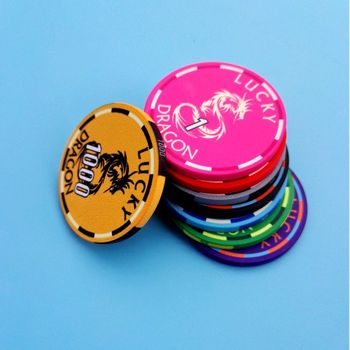 customized ceramics poker chips clay poker chips for Casino gamble