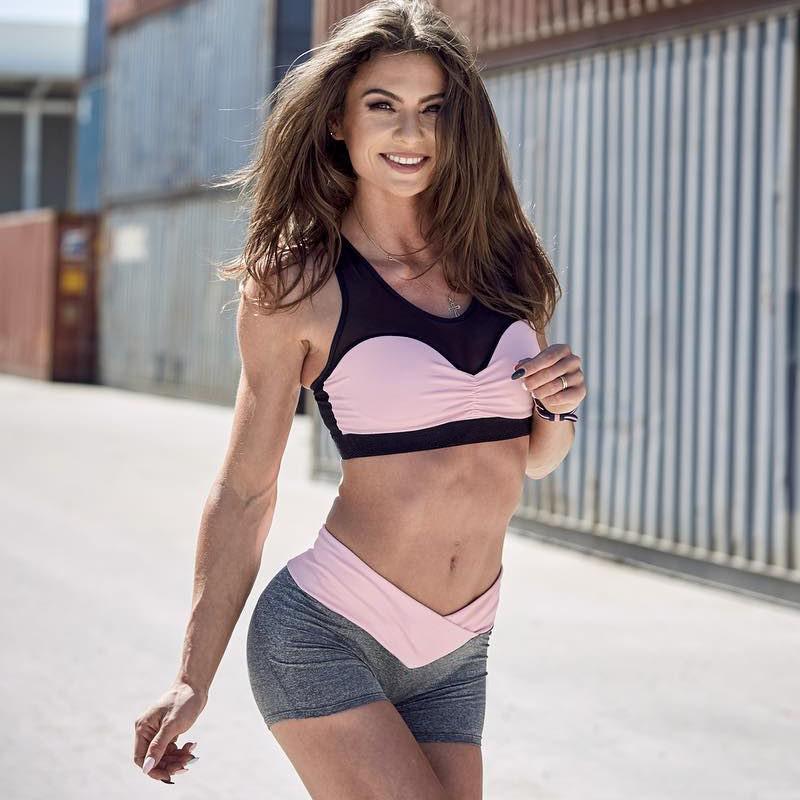 463acf8d4 Conjuntos Esporte De Fitness Yoga Das Mulheres Preço Barato De Alta  Qualidade Senhoras Sexy Calcinha E Sutiã Define Atacado Personalizado  Ginásio Conjunto ...
