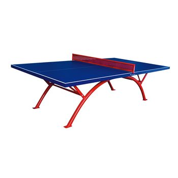 Cheap Price Outdoor Table Tennis Folding Table Standard Size Ping Pong Table
