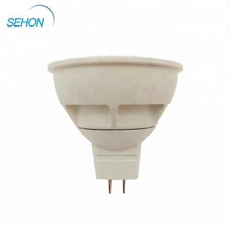 High quality hologen reflector design cob dimmable gu10 led spotlight
