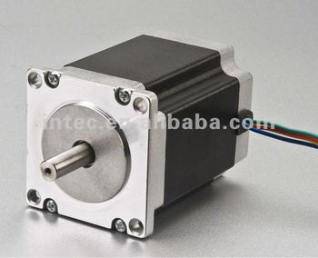Nema 34 degree step angle 5 phase stepper motor for Stepper motor step size
