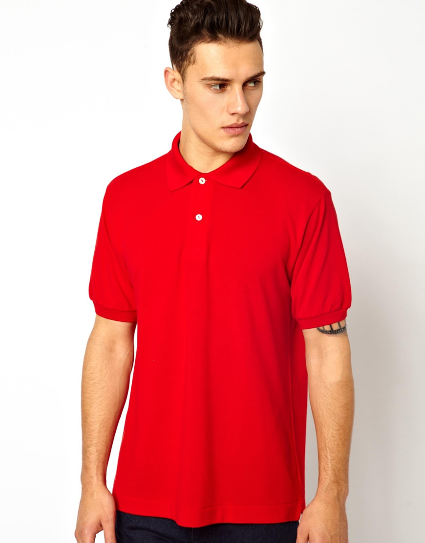 Men Plain Red Polo Shirts Cheap For Wholesale Buy Red Polo