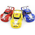 New Kid Flashing Car Toy 1 48 Automatic Steering Flashing Music Racing Car Electric Toy Car