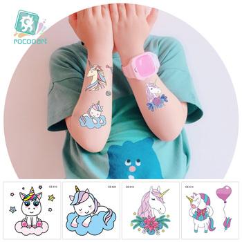 New Arrival Children S Cartoon Unicorn Temporary Tattoo Designs 2 36