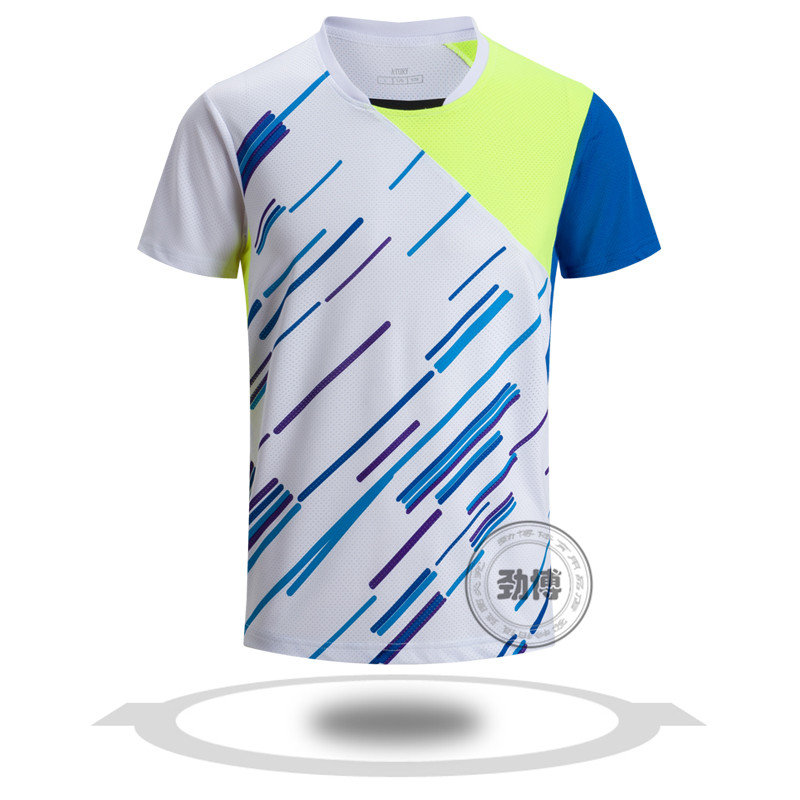 Latest badminton jersey design dry fit jersey sports badminton jersey uniform