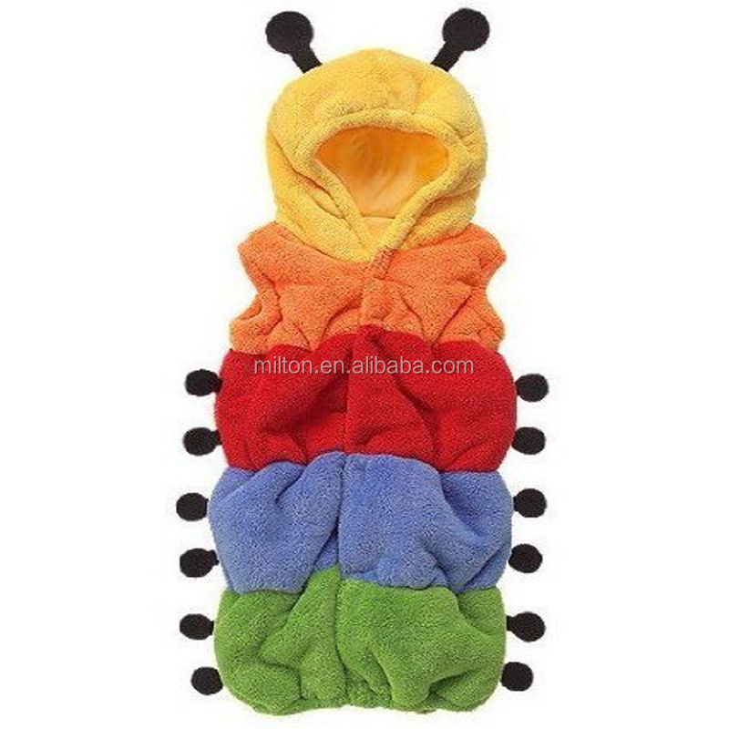 Cute Caterpillars shape baby sleeping bag animals sleeping bag