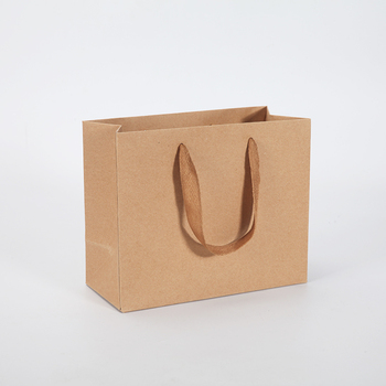 Custom Mini Kraft Paper Gift Bag Bags India Fabric Whole
