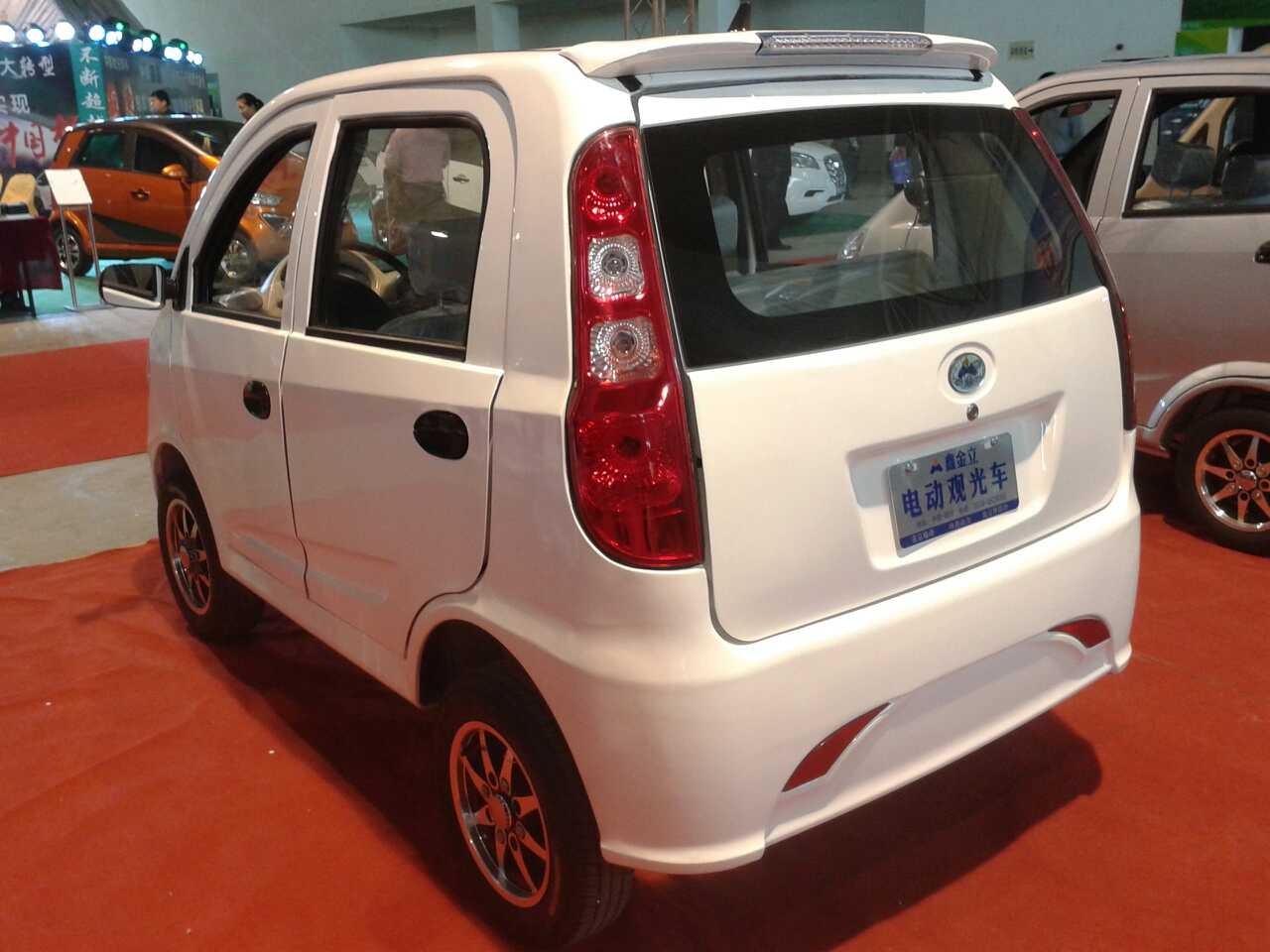 New brand ZF1360 electric car with 4 seater, View new electric car ...