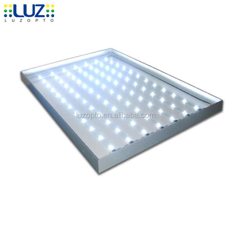 LED fabric light box display, Advertising aluminium frameless LED backlit light box fabric