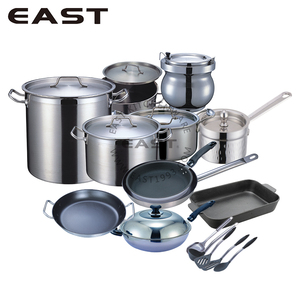 Commercial Hotel Free Cookware Set/Glass Pot Lid
