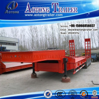 heavy duty trailers manufacture 120ton 8 alxes heavy equipment transport trailer for sale