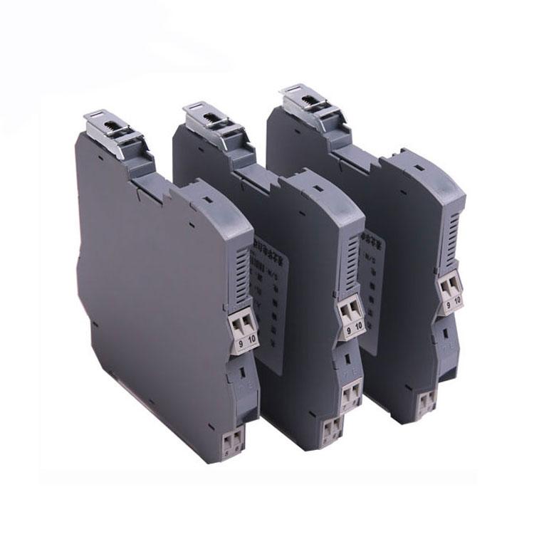 0-10v 4-20ma 1 input 3 output loop powered analog signal isolator