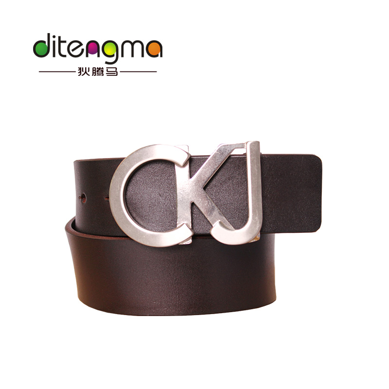 Top China Brand DiTengMa Genuine Leather Men's Dress Designer Belts Wholesale For Men