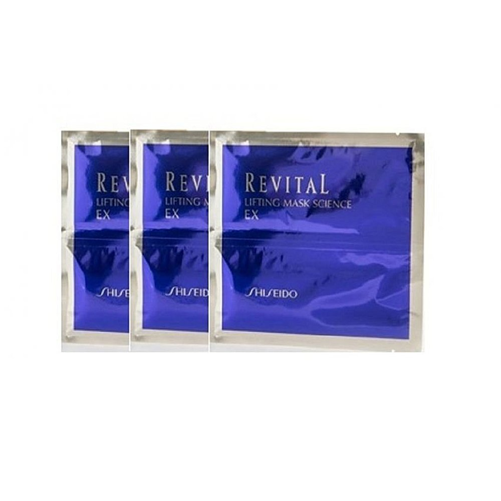 SHISEIDO Revital Lifting Mask Science EX (3 Sheets)